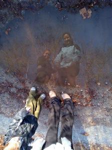 luke and mom puddle