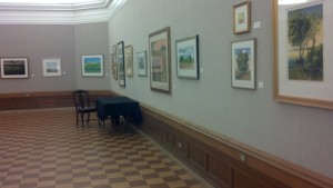 Visited the Art Gallery at the Library