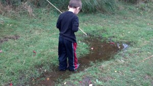 The puddle player!