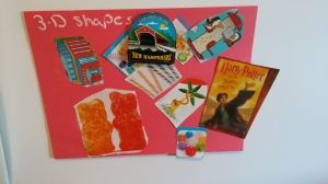3-D shape collage