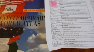 A-Z Atlas Scavenger Hunt